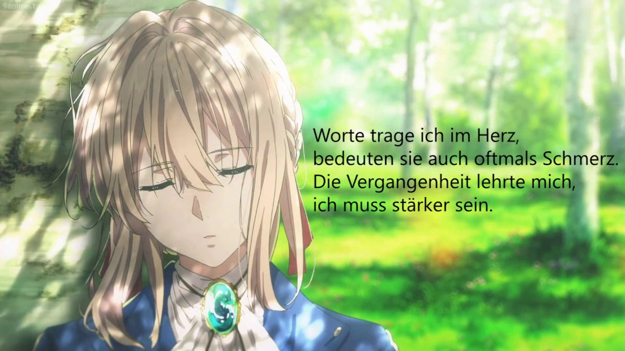 Violet Evergarden Opening Sincerely True German Fancover
