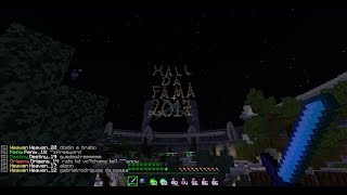 Hall da fama 2017 Craftlandia -LNs/nYY wins! Fui hall e olha no q deu