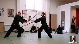 seminario NINJUTSU ITALIA kenjutsu iaijutsu