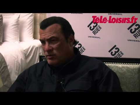 Steven Seagal, the disaster interview