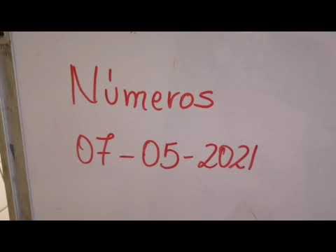Números para 07/05/2021 tica, Nica, domi, Honduras y NY