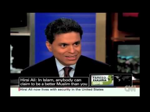"""Irshad debates Ayaan Hirsi Ali on CNN's """"Fareed Zakaria GPS"""""""