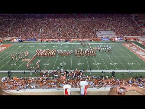 University Of Texas Longhorn Band, UT-Louisana Tech August 31, 2019