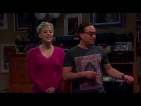 The Big Bang Theory  S08E13  Penny and Leonard Sing Soft Kitty to Sheldon