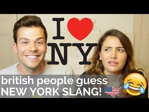 🇬🇧Brits Guess NEW YORK Slang! 🇺🇸 | American vs British