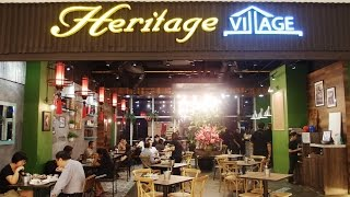 Heritage Village Jaya Shopping Centre Penang Nyonya Food Review By Best Restaurant To Eat