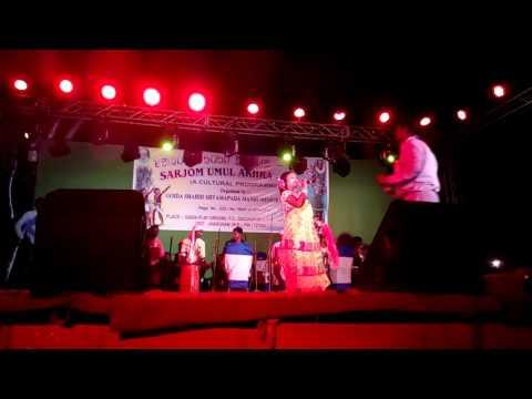 Kalpana Hansda's Stage Programme -2017 at Gaida, near CHAKULIA