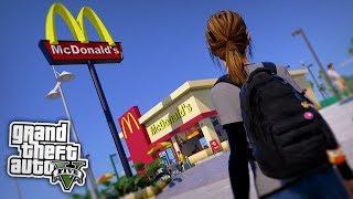 BEI MCDONALD's ARBEITEN? - GTA 5 Real Life Mod