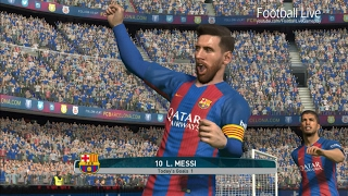 Barcelona vs athletic bilbao | full match and amazing lionel messi pes 2017 gameplay