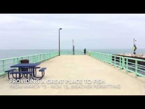 Oak Creek Power Plant Fishing Pier
