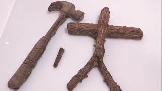陰キャラの呪いの手作りバレンタイン。藁人形チョコレートセットを作ってみた。【作り方】