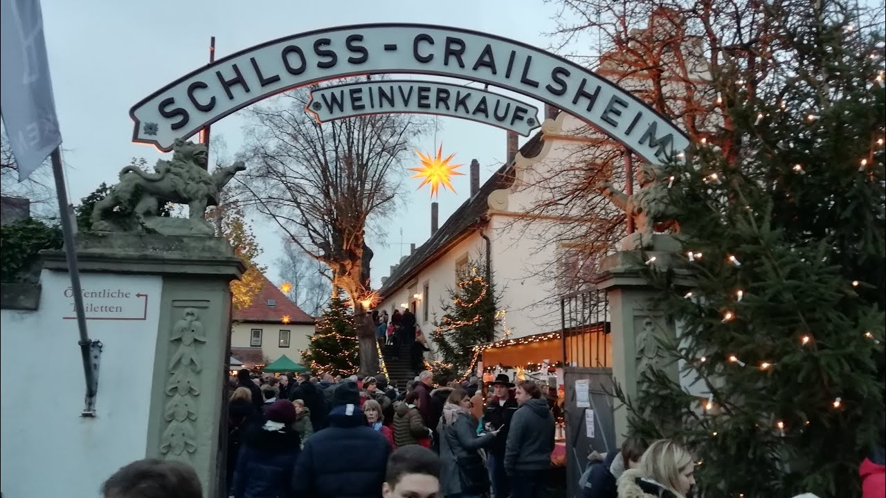 1 Advent Weihnachtsmarkt.Schloss Crailsheim Weihnachtsmarkt Rödelsee Am Wochenende Vor Den 1 Advent Christkindes Werkstätten
