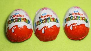 Suprise Kinder Eggs Otwieramy jajko kinder niespodziankę