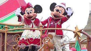 初日・初回 ディズニークリスマスストーリーズ/2015年ランドパレード/ミキミニかぶりつきポジ thumbnail
