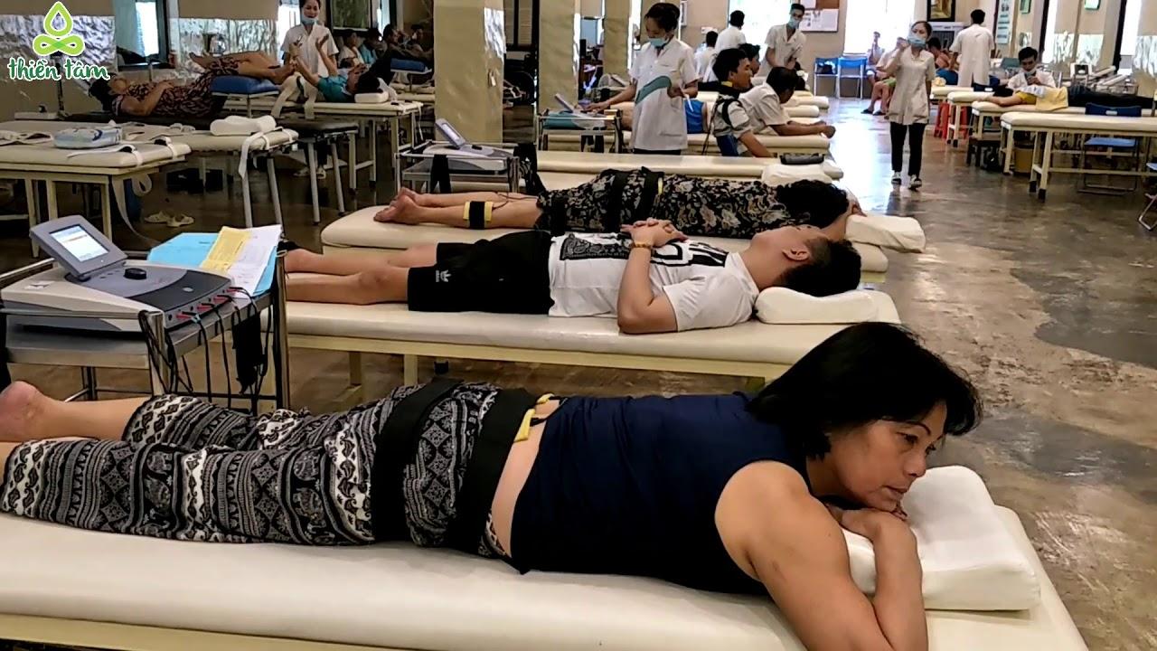 Điều trị Thoái hóa, gai cột sống, đau thần kinh tọa cho bệnh nhân Nguyễn Kim Vinh