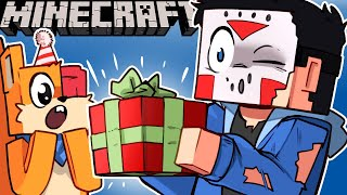 i-gave-the-best-present-ever-deadsquirrel-s-birthday-on-minecraft-ep-11