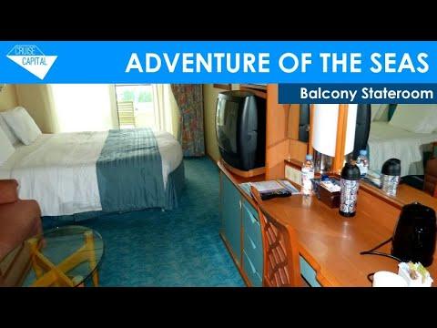 Adventure of the seas balcony stateroom 8540 youtube for Balcony upgrade