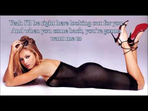 Paulina Rubio I'll Be Right Here (Sexual Lover) Lyrics