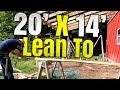 DIY Lean to Full Build from Start to Finish