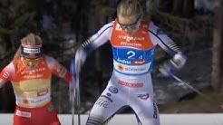 4x5 km stafett kvinner, siste etappe VM Seefeld