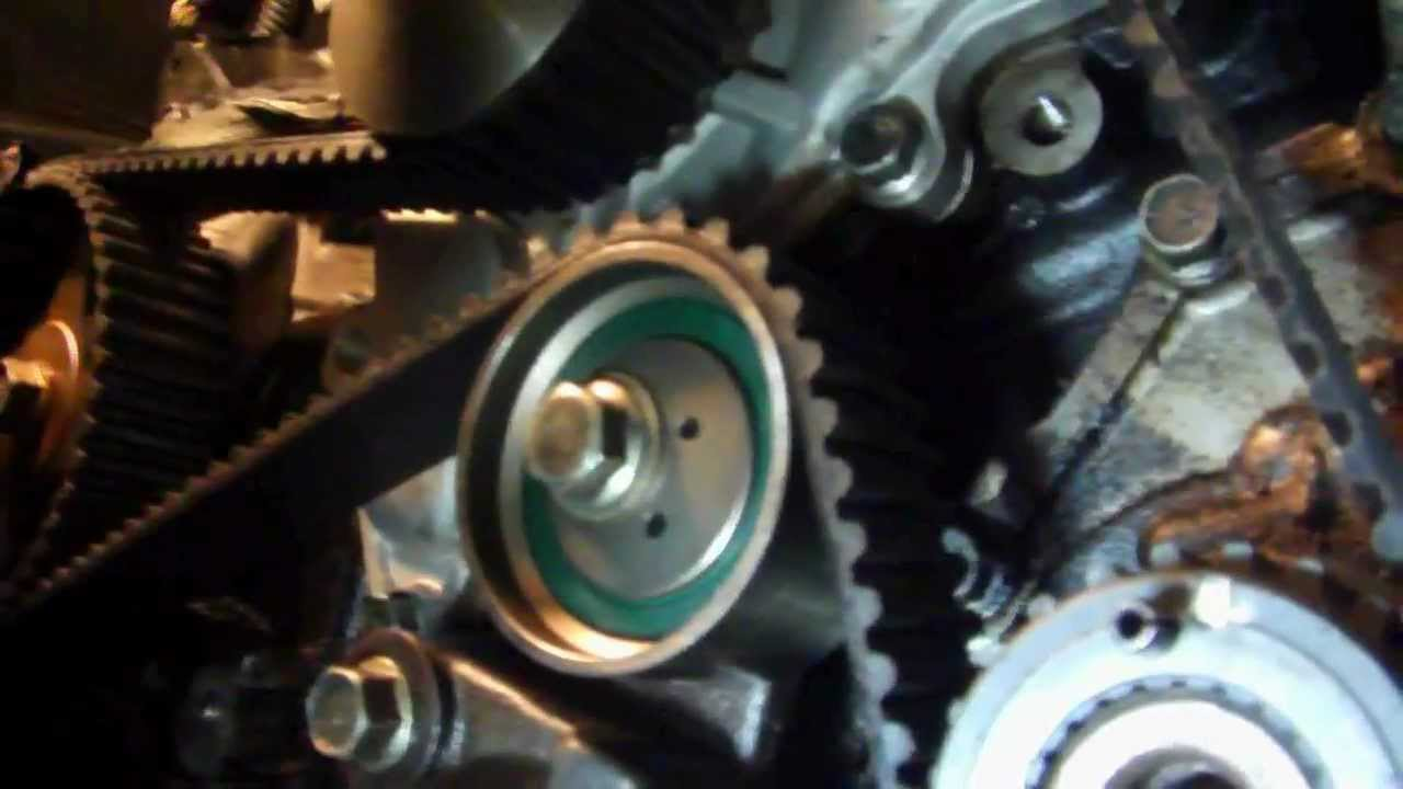 medium resolution of 1996 to 2000 chrysler sebring convertible timing belt water pump 4 of 4 youtube