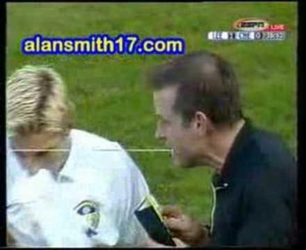 Alan Smith tackle on Stanic
