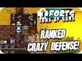 Forts Multiplayer 1v1 Gameplay Ranked Crazy Defense