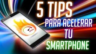 TELEFONO LENTO? 5 Tips para mejorar el rendimiento de tu smartphone!