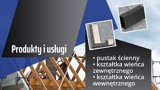 Bloczki betonowe pustak stropowy Teriva wyroby betonowe Kuślin Wytwórnia Materiałów Budowlanych