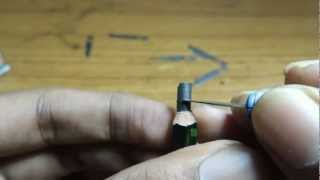 Pencil carving-Making of a Micro sculpture -