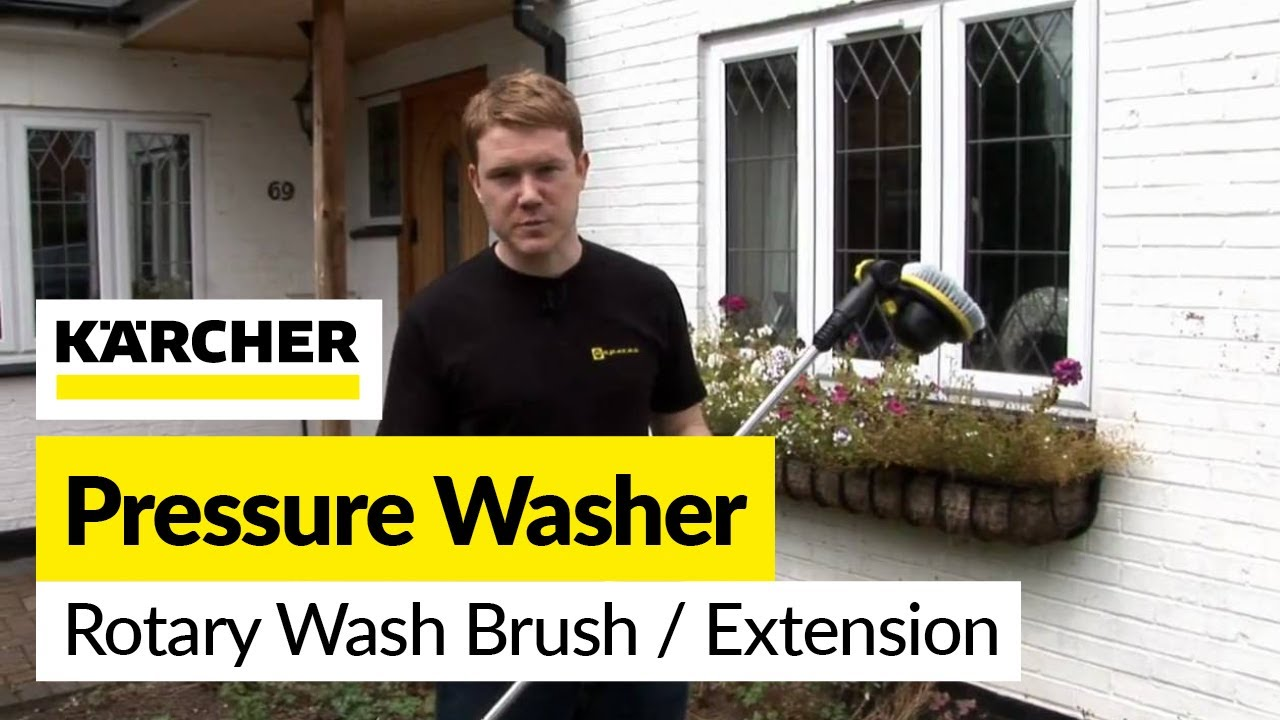 Karcher Accessory Rotary Wash Brush And Extension Lance