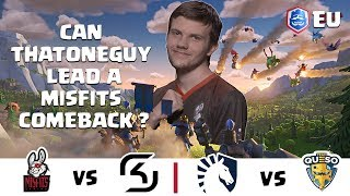 Video CRL Europe: Misfits v. SK Gaming | Team Liquid v. Team Queso download MP3, 3GP, MP4, WEBM, AVI, FLV September 2018