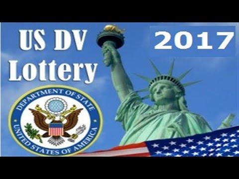 #143.США. Как проверить  результаты лотереи грин карт 2017.