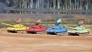 Танковый биатлон. СУПЕРЗРЕЛИЩЕ! 4 августа 2014
