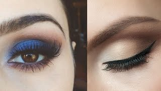 Easy eye makeup tutorial | eye makeup compilation #5