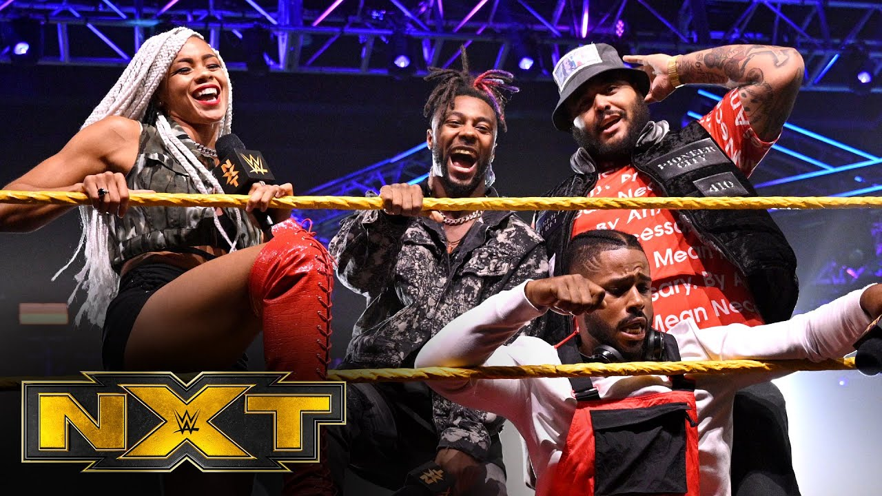 Hit Row Records Stable Arrives In NXT