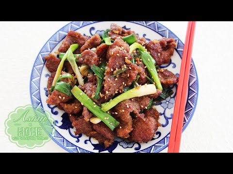 Asian at Home | Mongolian Beef