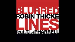 "Robin thicke feat. t.i.+ Pharrell ""Blurred Lines"""