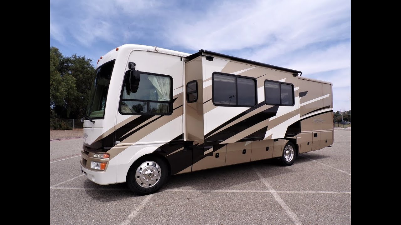 2008 National Sea Breeze 32B Double Slide Outs Full ... on