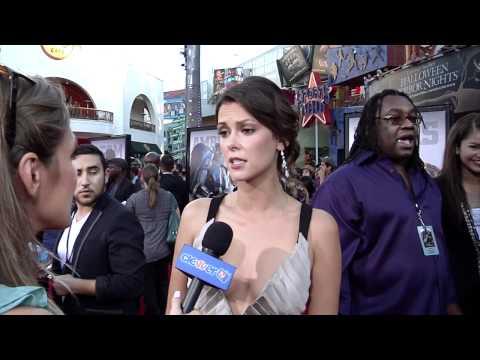 Olga Fonda   'Real Steel' Premiere