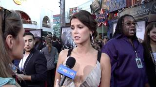 Olga Fonda Interview - 'Real Steel' Premiere