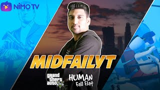 GTA V Online & Human Fall Flat   RDR 2 Late Cause Doing PMPL Commentry