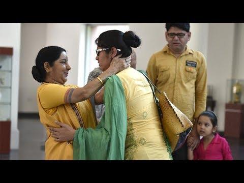 Appreciate Uzma for believing in the Indian High Commission: Sushma Swaraj