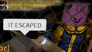 RED ALERT: ROBLOX THANOS HAS ESCAPED