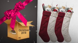 Top Knit Christmas Stockings To Buy On Christmas 2018. | Christmas Countdown Guide