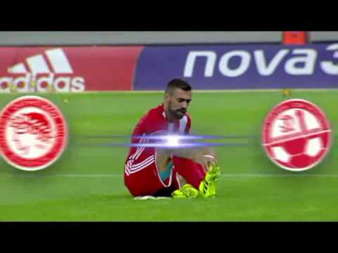 UEFA Champions League - Olympiacos (GRE) vs Hapoel Be'er Sheva (ISR) 27/07/2016 Full