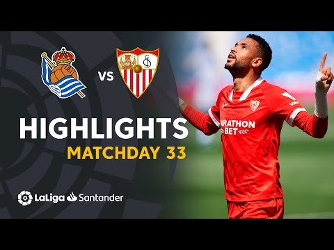 Real Sociedad Sevilla Goals And Highlights