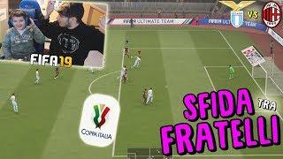 LAZIO vs MILAN - SEMIFINALE COPPA ITALIA! - Fifa 19