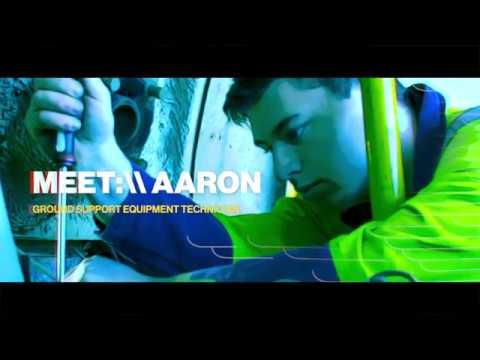 MEET:\\ Aaron The Ground Support Equipment Technician