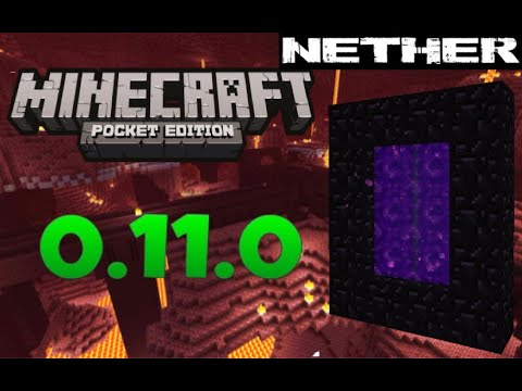 PORTAL PARA EL NETHER MINECRAFT PE 0.11.0 0.10.5 0.10.4 0.9.5 0.11.1 Jose0o7
